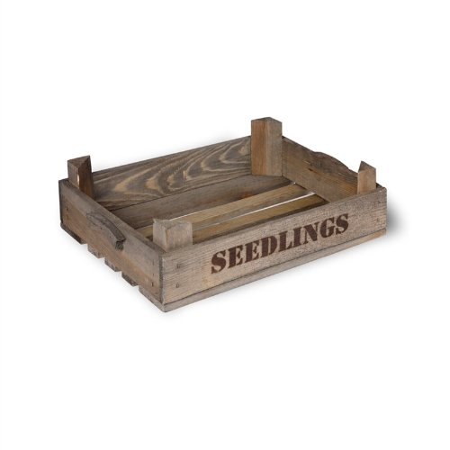 Wooden Seedlings Tray For Your Greenhouse, Potting Shed and Garden. Plant your seeds and watch them grow H10 x W40 x D30cm. Code STWO01