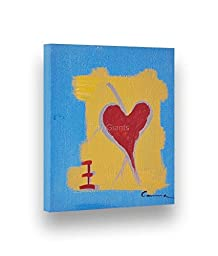 Hand-painted Abstract Painting MIND & HEART 7\