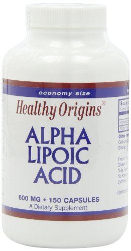 海外直送肘 Alpha Lipoic Acid, 600 Mg, 150 Caps