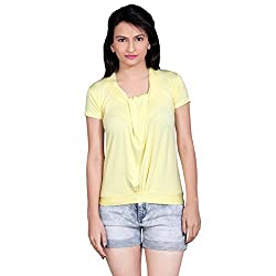 Tantra Angelina Women's Top, Yellow, X-Small