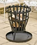 NEW LARGE PATIO FIRE PIT BASKET GARDEN HEATING CHIMENEA