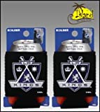 SET OF 2 LOS ANGELES KINGS NHL CAN KADDY KOOZIE COOLER at Amazon.com