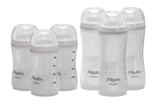 Playtex Premium Nurser 4 Ounce & 8 Ounce, 6 Count front-930240