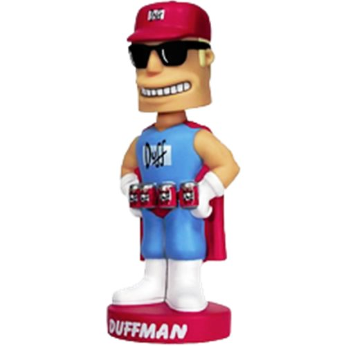 Picture of Optimum Fulfillment Funko The Simpsons Bobblehead Doll - Duffman Figure (B000B8Z03I) (Optimum Fulfillment Action Figures)