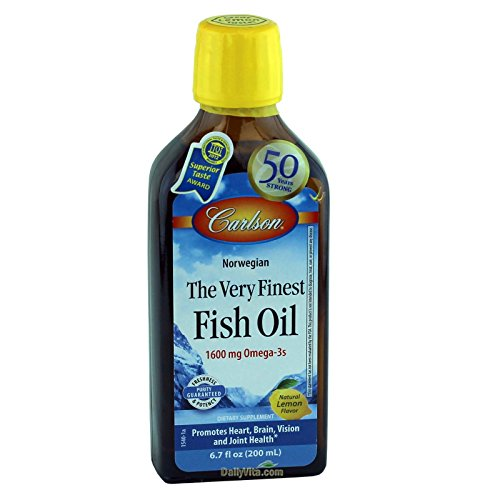 Carlson the very finest fish oil liquid omega 3 lemon for Carlson fish oil review