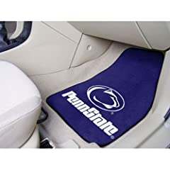 Penn State Nittany Lions NCAA Car Floor Mats (2 Front) by Fanmats