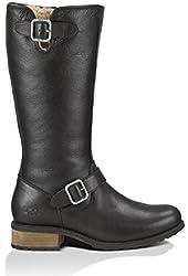 UGG Australia Women's Chancery Bomber Leather Boot