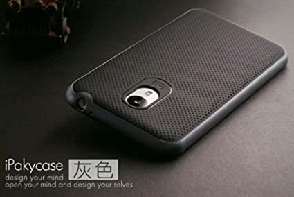 Tingtong-Original-iPaky-Brand-Luxury-High-Quality-Ultra-Thin-Dotted-Silicon-Black-Back-+-PC-Black-Frame-Bumper-Back-Case-Cover-For-Meizu-M2-Note