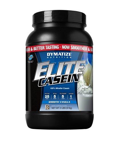Elite Casein Vanilla 2Lb