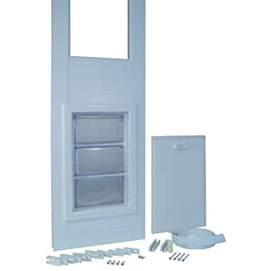 Ideal Pet Products 94-Inch 150 Series Vinyl Insulated Pet Patio Door, Extra Large