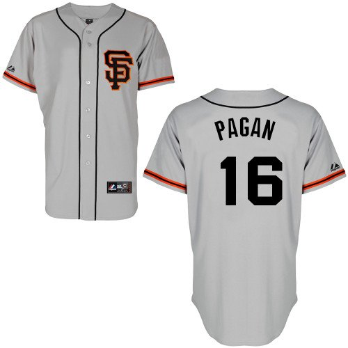 Angel Pagan San Francisco Giants Alternate Road Replica Jersey by Majestic Select Size: Small at Amazon.com