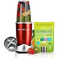 Nutribullet Red with Bonus Nutriblast Supergreens