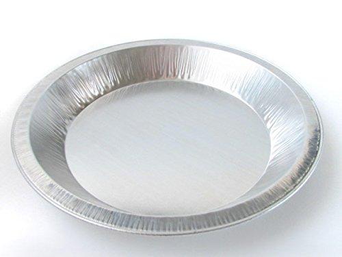 Reusable Heavy Duty Aluminum 9 Pie Pans #922- 24 oz Capacity