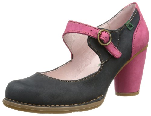 El Naturalista Womens Court Shoes N475 Acai Pink 9 UK, 42 EU
