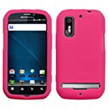 Motorola Photon 4G MB855 Silicone Skin Soft Phone Cover - Hot Pink