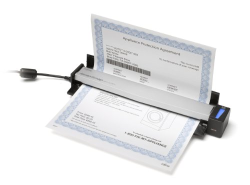 Fujitsu ScanSnap S1100 Deluxe Bundle Mobile Scanner (PA03610-B015)