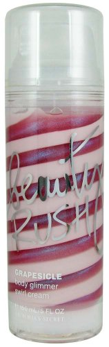 Victoria'S Secret Beauty Rush Grapesicle Body Glimmer Swirl Cream 5 Oz (150 Ml)
