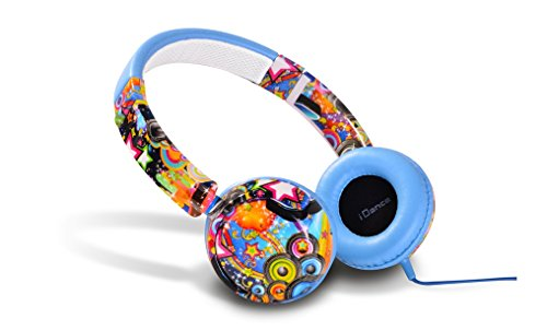 Idance Track 10 Series Street Design On Ear Headphone - Multicolour