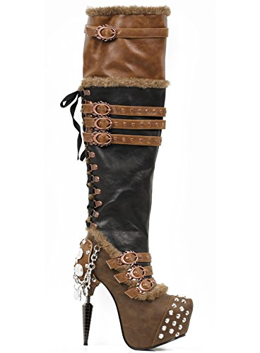 Hades-Womens-Ventail-High-boots-with-Metal-Spikes