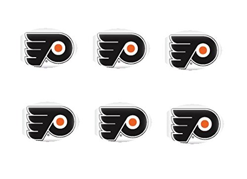 Item#41281 - NHL Philadelphia Flyers 12 - 2 inch Cupcake Edible Images