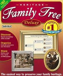 Heritage Family Tree Deluxe (Old Version)