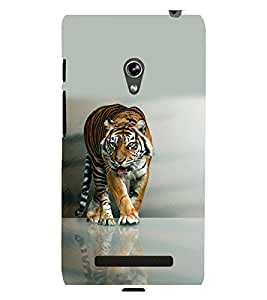 printtech Nature Tiger Back Case Cover for Asus Zenfone 5::Asus Zenfone 5 A500CG