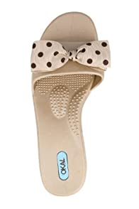 Oka b Madison Polka Dot Sandal