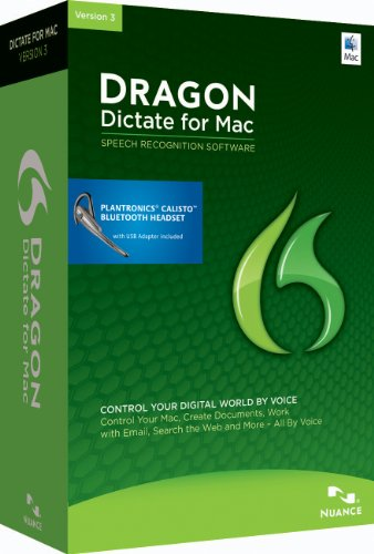 Dragon Dictate 3.0: Wireless (Mac)
