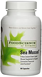 Food Science of Vermont Sea Mussel Joint Supplement Capsules, 90 Count