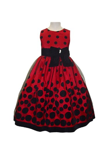 Classy 959 Red Holiday Special Occasion Dress - 8 front-696095