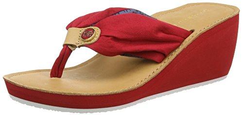 Tommy Hilfiger, Damen M1285Yriam 9D Stiefel & Stiefeletten, Rot (Tango Red 611), 39 EU (6 UK)