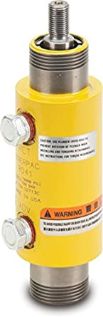 "Enerpac RD-43 Double-Acting Precision Hydraulic Cylinder with 4 Ton Capacity, Double Port, 3.13"" Stroke Length"