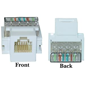 Keystone Telephone Wiring Diagram How To Wire A Keystone Jack Youtube Rj45 Surface Mount Jack Wiring Diagram Wiring Library Cablewholesale Rj11 Rj12 Toolless Keystone Jack White Cat3 Rj11 Rj12 Keystone Voice Jack