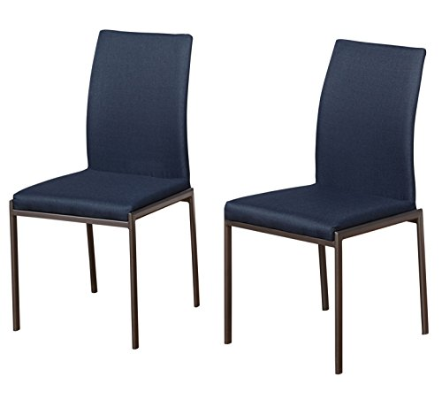 Target Marketing Systems Harrison Dining Chair Navy Set Of 2 Furniture Chairs Kitchen Room Chairs