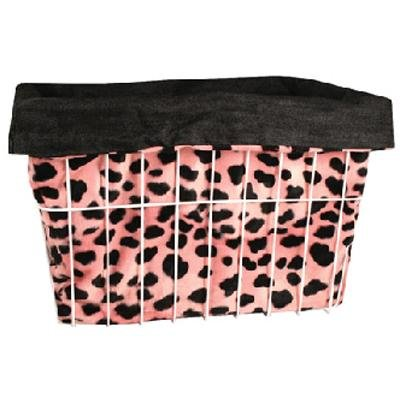 Basket Buddy Reversible Bike Basket Cover (Pink Dalmation)