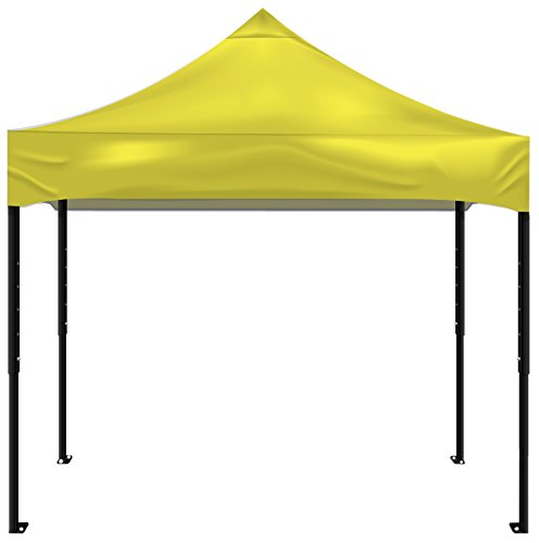 Kd Kanopy Psk100Y Party Shade Steel Frame Indoor/Outdoor Portable Canopy, 5 By 5-Feet, Yellow