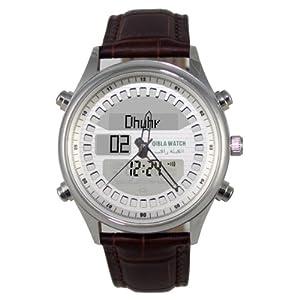 Vktech Qibla Pray Watch SR810 Digital Compass EL Backlight Stainless Steel New