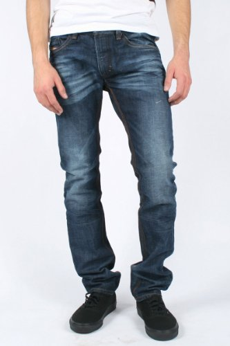 Diesel - Mens Thavar 0806U Denim Jeans, Size: 36W x 32L, Color: Denim