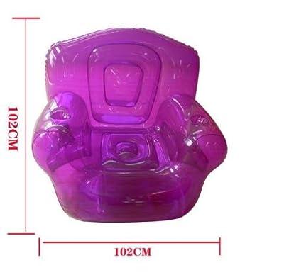 PVC aufblasbares Sofa Home Single aufblasbar Sofa, violett von HAITU - Gartenmöbel von Du und Dein Garten