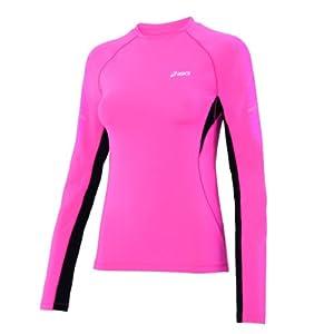 Asics Fitness Running Sportshirt Crew Neck Top Femmes 0263 Art. 612223 Taille M