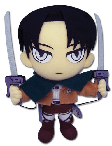 "Great Eastern Attack on Titan 9"" Levi Ackerman Plush - 1"