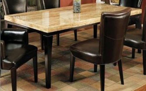 Buy Low Price Armen Living Bermuda Dining Table by Armen Living (MBEBKDICHSQTO-DISQPEBA)