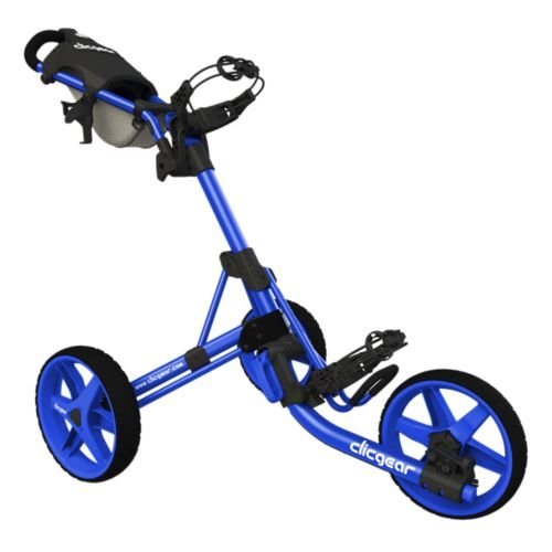 Clicgear 3.5+ Golf Push Cart, Blue (Push Pull Golf Cart compare prices)