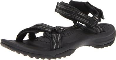 Teva Women's Terra Fi Lite Sandal,Double Zipper Black,5 M US