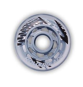 Rollerblade 78mm 80A Inline Skate Wheels - 8 Pack 2014 by Rollerblade
