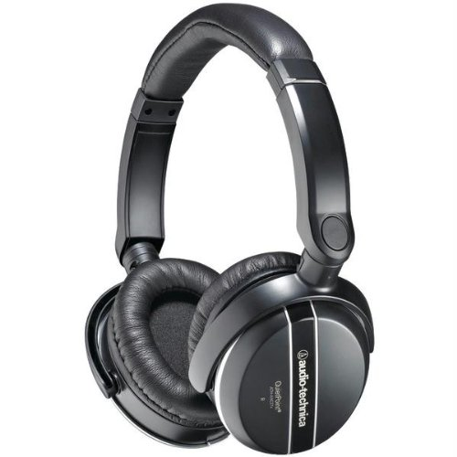 Audio Technica Ath-Anc27X Noise-Canceling On-Ear Headphones