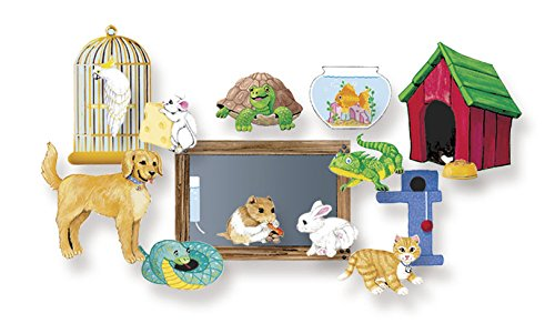 Little Folk Visuals My Pets Felt Figures for Flannel Board