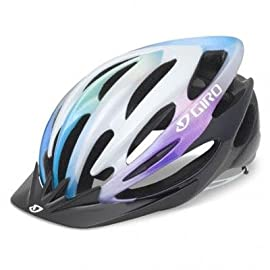 Giro 2013 Women's Sapphire Cycling Helmet (Black/Color Fade - M)