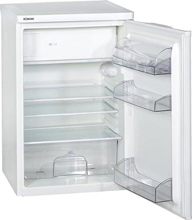 Bomann KS 197 - frigos combinés (Autonome, Blanc, Placé en haut, Droite, A++, SN, T)