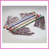 12 Twirling Tinsel Batons (1 dz)